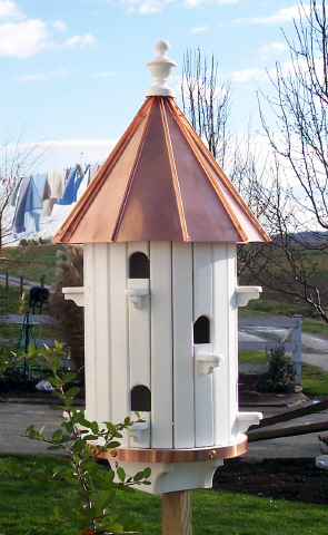 Purple Martin Bird House Amish Wooden Martin Birdhouses