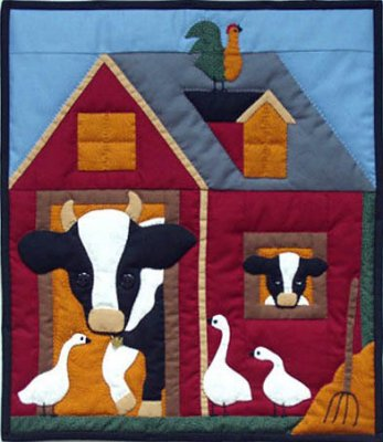 Quilt Kits Amish Wall Quiltkits and Patterns : cow quilt block - Adamdwight.com