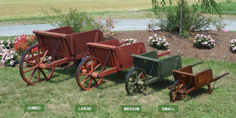 Buckboard Wagons Amish Wooden Wagon Amishshop Com