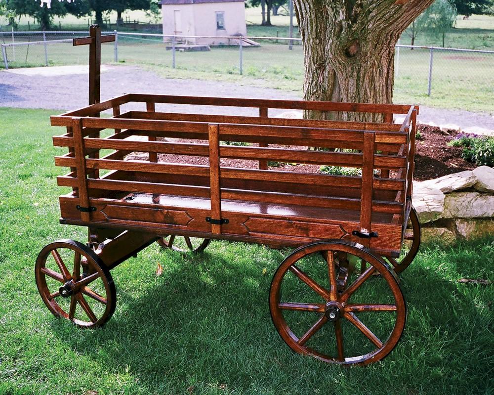 Express Wagons Amish Wooden Wagon - Amishshop.com