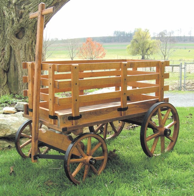 Express Wagons Amish Wooden Wagon