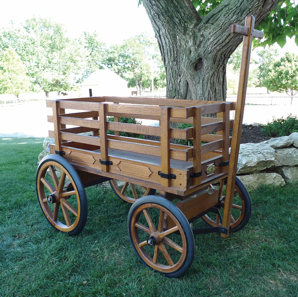 Wagon With Rubber Wheels The Wagon