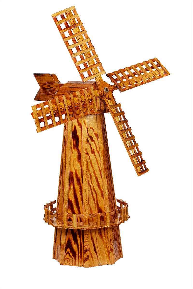 decorative wooden windmills