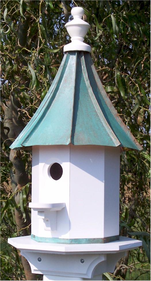Amish Duck Houses : Birdhouses wild birds purple martin woodpecker amish bird