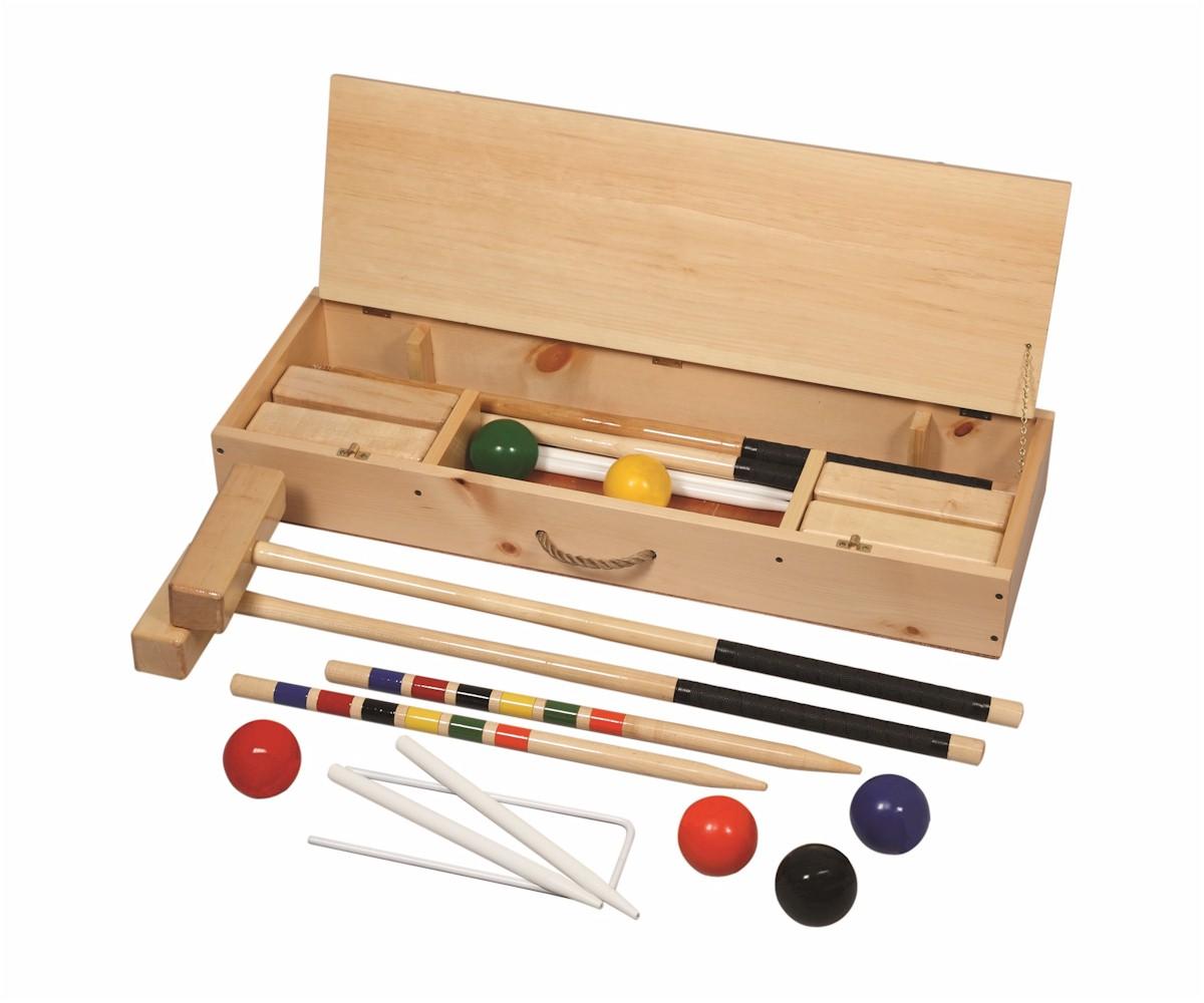 official 6player croquet set - Croquet Set