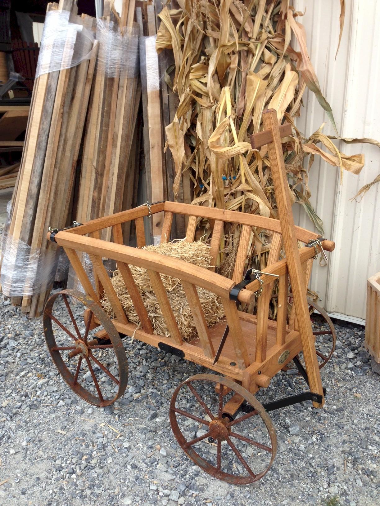 Goat Wagons Amish Wooden Goat Wagon - Amishshop.com